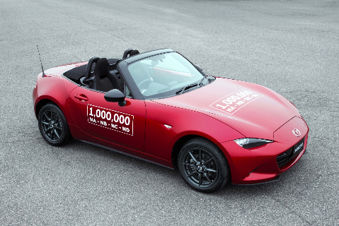 The one millionth Mazda MX-5